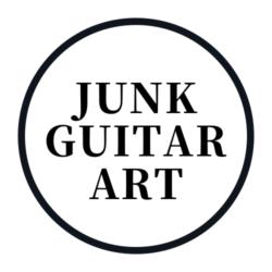 JUNK GUITAR ART